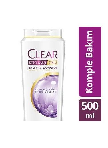 Clear Clear Şampuan Besleyici Komple Bakım 500 Ml Renksiz
